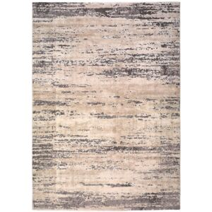 Covor Universal Seti Abstract, 60 x 120 cm, gri - bej
