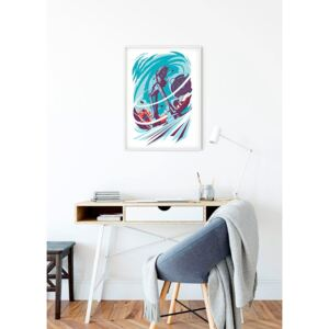 Poster Star Wars Classic Vector Hoth 40/50 cm