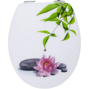 Capac WC motiv floare Water Lilly 36/44 cm