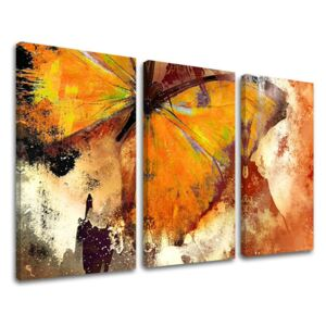 Tablouri canvas 3-piese ABSTRACT AB116E30 (tablouri moderne pe)