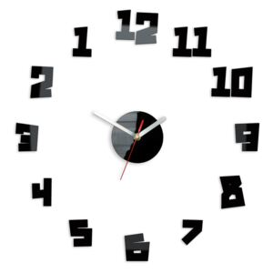 Ceas de perete modern CRAZY CLOCK - BACK IN TIME NH030 (ceas)