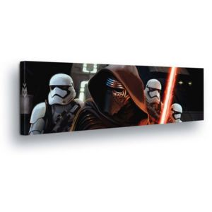 GLIX Tablou - Star Wars The Power Wakes II 45x145 cm