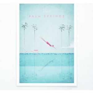 Poster Travelposter Palm Springs, A3