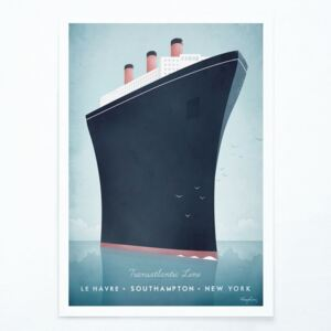 Poster Travelposter Cruise Ship, A3