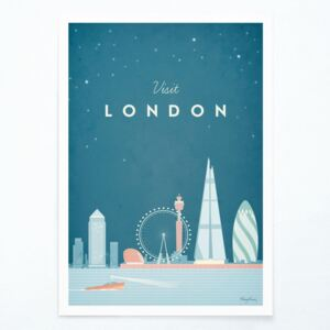 Poster Travelposter London, A2
