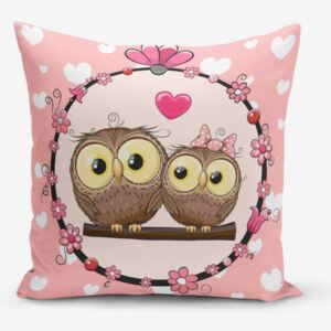 Față de pernă Minimalist Cushion Covers Fall in Love, 45 x 45 cm