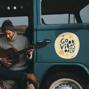Sticker auto - Good vibes only 223