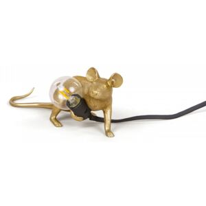 Lampa aurie 6×13 cm Mouse Gold Lop Seletti