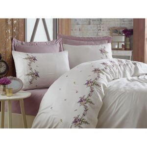 Exclusive Lenjerie de Pat Bumbac Satin Double - Nisa