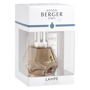 Set Berger lampa catalitica Geometry Honey cu parfum Poussiere d'Ambre
