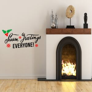 Sticker decorativ Season Greetings
