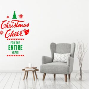 Sticker decorativ Christmas Cheer