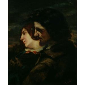 The Lovers in the Countryside, after 1844 Reproducere, Gustave (attr. to) Courbet