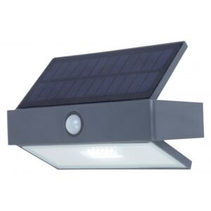 Lutec ARROW 6910601335 Senzor de miscare exterior/solar plastic EVERLIGHT 2835 180lm 5000K IP44 A+