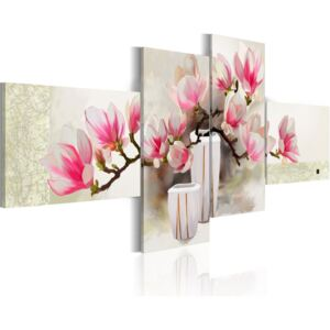 Tablou Bimago - Fragrance of magnolias 100x45 cm