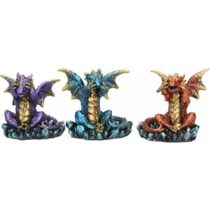 Set statuete Trei dragoni intelepti