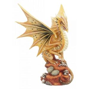Statueta Age of Dragons - Dragon de desert adult - Anne Stokes - 24cm
