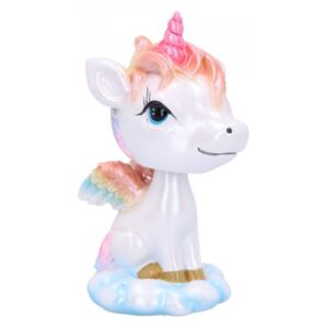 Unicorn Bobble-head Bobihorn 11 cm