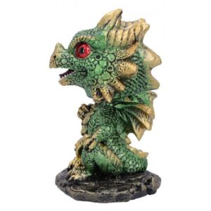 Dragonel Bobble-head Bobling (verde) 10 cm