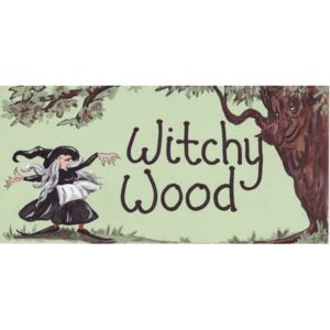 Placuta decorativa Witchy Wood