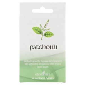 Conuri tamaie parfumata Elements - Patchouli