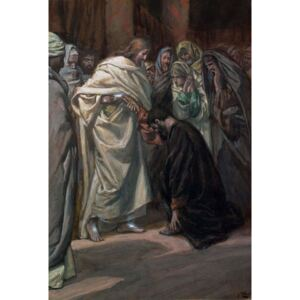 The Unbelief of St. Thomas, illustration for 'The Life of Christ', c.1884-96 Reproducere, James Jacques Joseph Tissot
