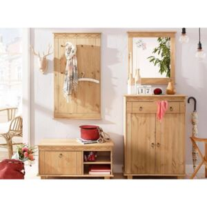 Set 4 piese hol natur Indra