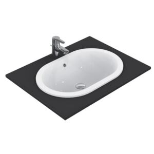 Lavoar Ideal Standard Connect Oval 48x35cm, fara orificiu baterie, montare in blat