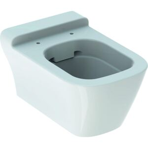 Vas WC suspendat Geberit myDay Rimfree 54cm, KeraTect alb