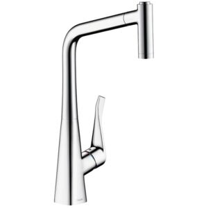 Baterie bucatarie Hansgrohe Metris 320, dus extractibil