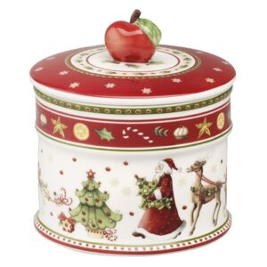 Recipient cu capac Villeroy & Boch Winter Bakery Delight Pastry 12x11cm