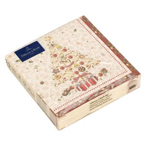 Set servetele hartie Villeroy & Boch Winter Specials C-Napkin Bakery Xmas Tree 25x25cm