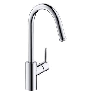 Baterie bucatarie Hansgrohe M5214-H260, ComfortZone 260, dus extractibil, crom