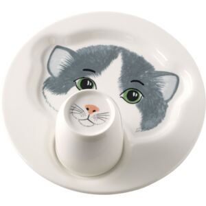Set copii farfurie si cana Villeroy & Boch Animal Friends Pisicuta