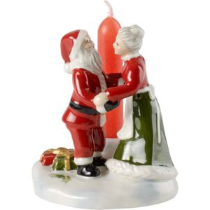 Decoratiune Villeroy & Boch North Pole Express Mr & Mrs Santa 6x6x8cm
