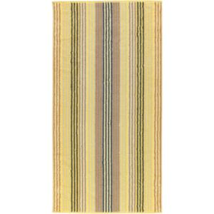 Prosop baie Cawo Unique Stripes 70x140 cm citrine