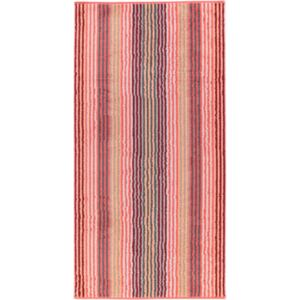 Prosop baie Cawo Unique Stripes 70x140 cm coral