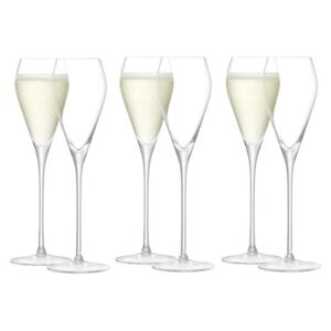 Set 6 pahare LSA Wine Prosecco 250ml