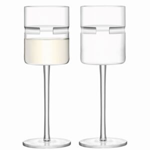Set 2 pahare vin alb LSA International Horizon 260ml