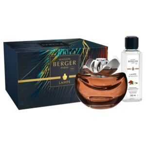 Set Berger lampa catalitica Temptation Chocolat cu parfum Tentation Santal