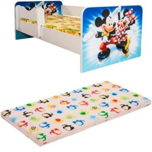 Pat Copii Promo Junior Minnie Si Mickey cu saltea