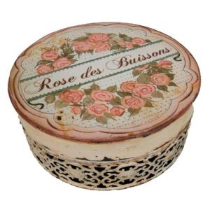 Cutie rotundă Antic Line Rose des Buissons
