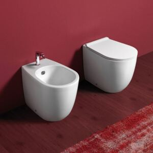Vas WC Simas - Vignoni Back to wall WC + Bidet