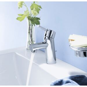 Baterie lavoar Grohe New Concetto, furtune flexibile,crom-32204001