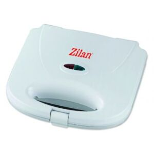 Sandwich maker Zilan, 750 W, alb, model grill