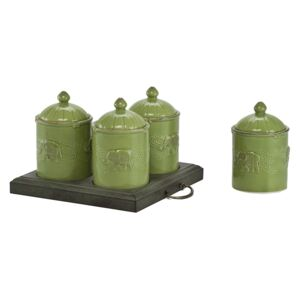Set recipiente Zielone
