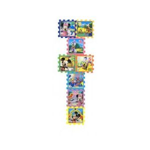 Covor Puzzle din Spuma Sotron 8 piese - Minnie & Mickey Mouse