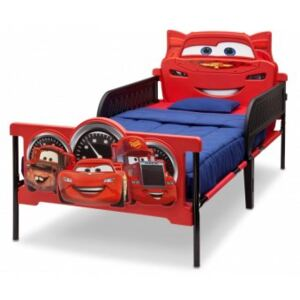 Pat cu Cadru Metalic Happy Children - Twin Disney Cars