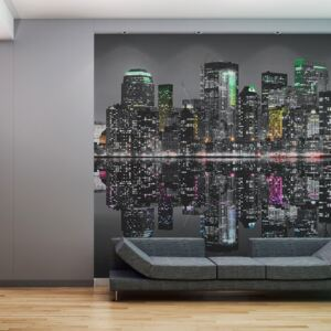 Fototapet Bimago - NYC - A place where the dreams are made of + Adeziv gratuit 550x270 cm