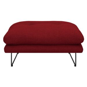 Taburet Windsor & Co Sofas Comet, roşu